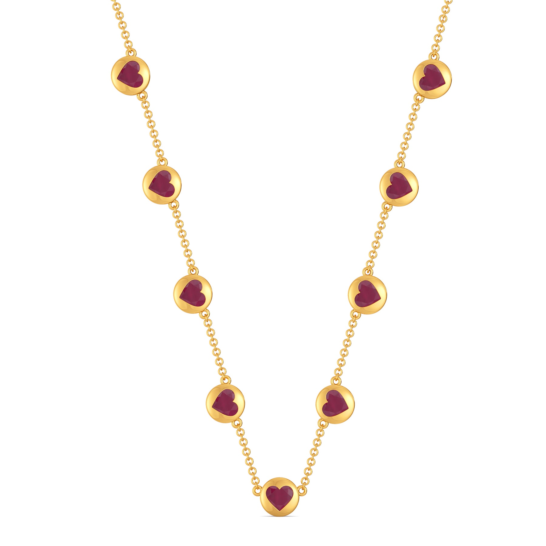 Queen of Hearts Gemstone Necklaces