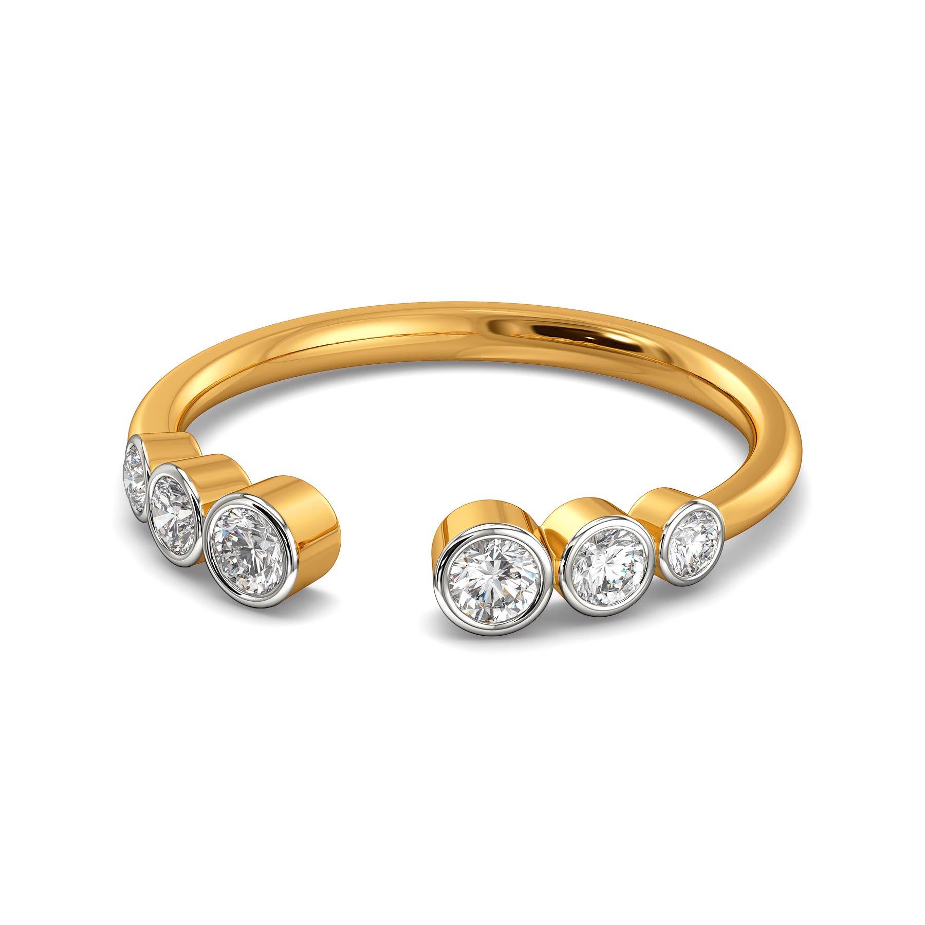 Mon Chéri Diamond Rings