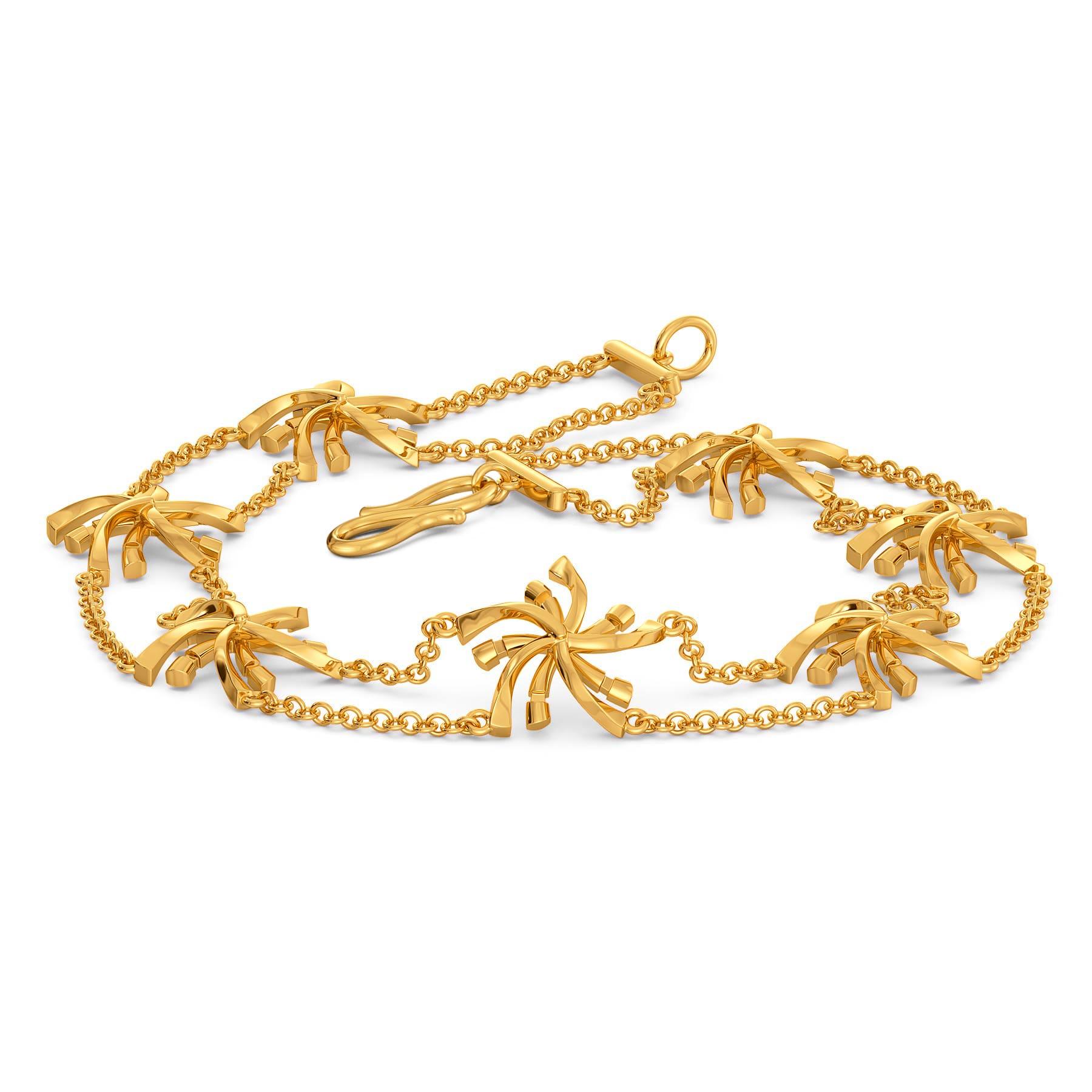 Disco Chic Gold Bracelets