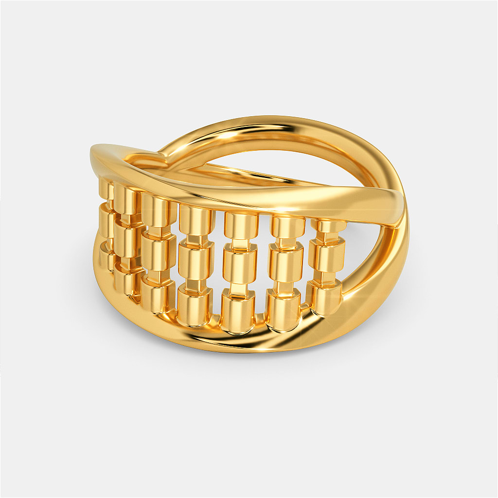 Funky Disco Gold Rings