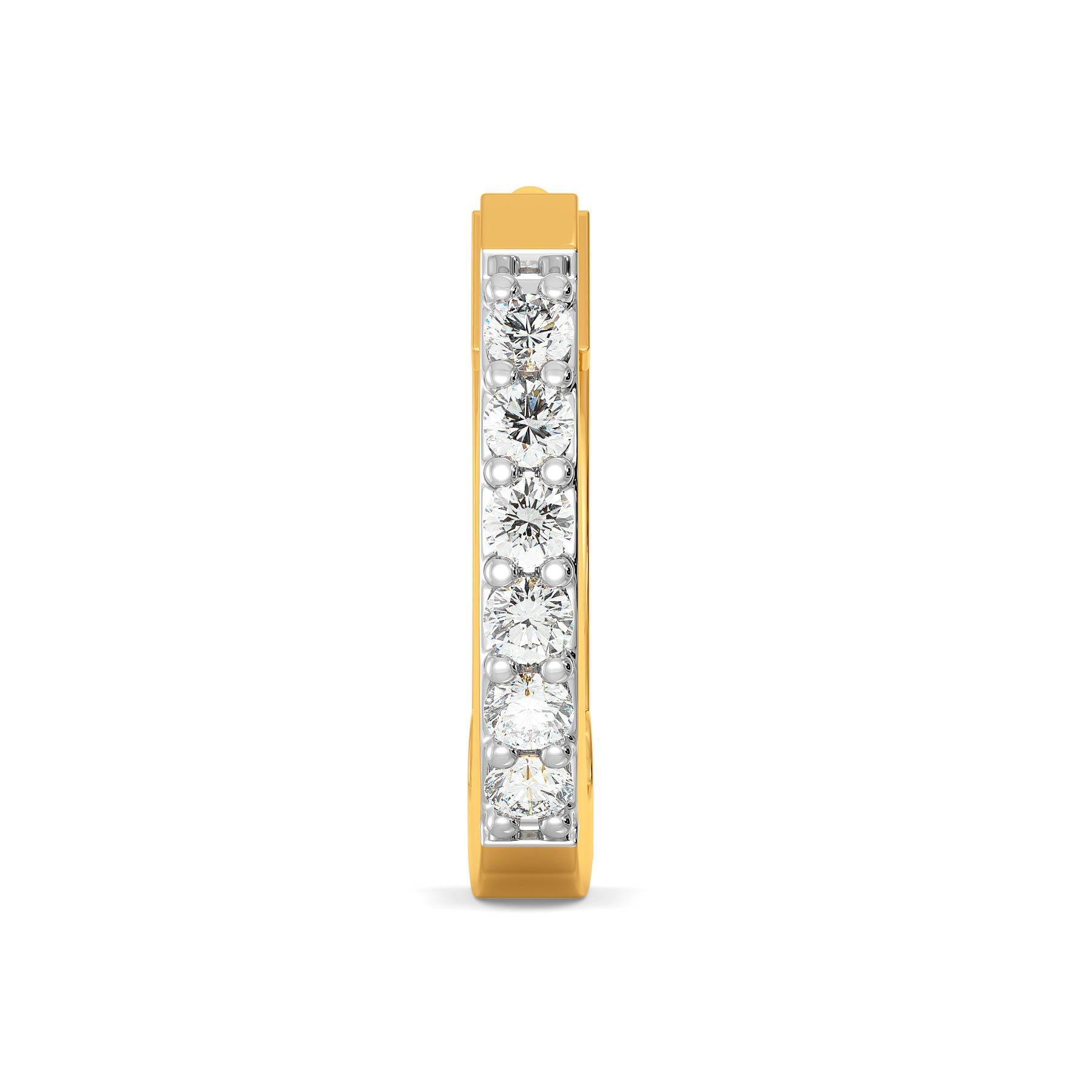 Bar Code Diamond Nose Pins