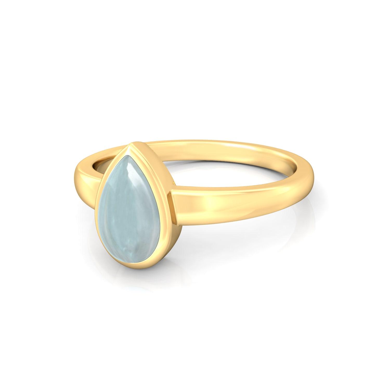 Freshwater Blue Gemstone Rings