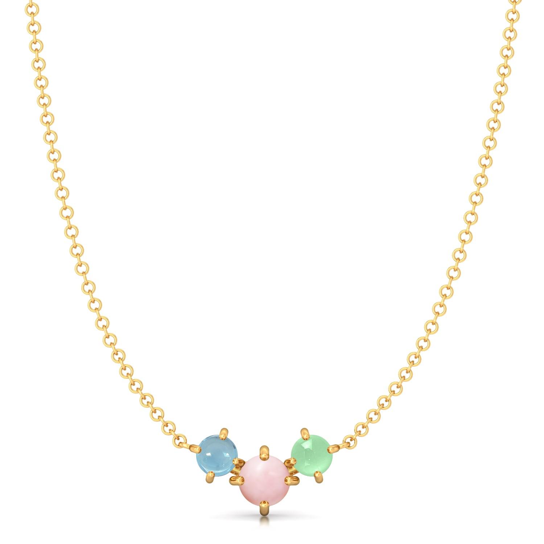 Soft Serve Gemstone Necklaces