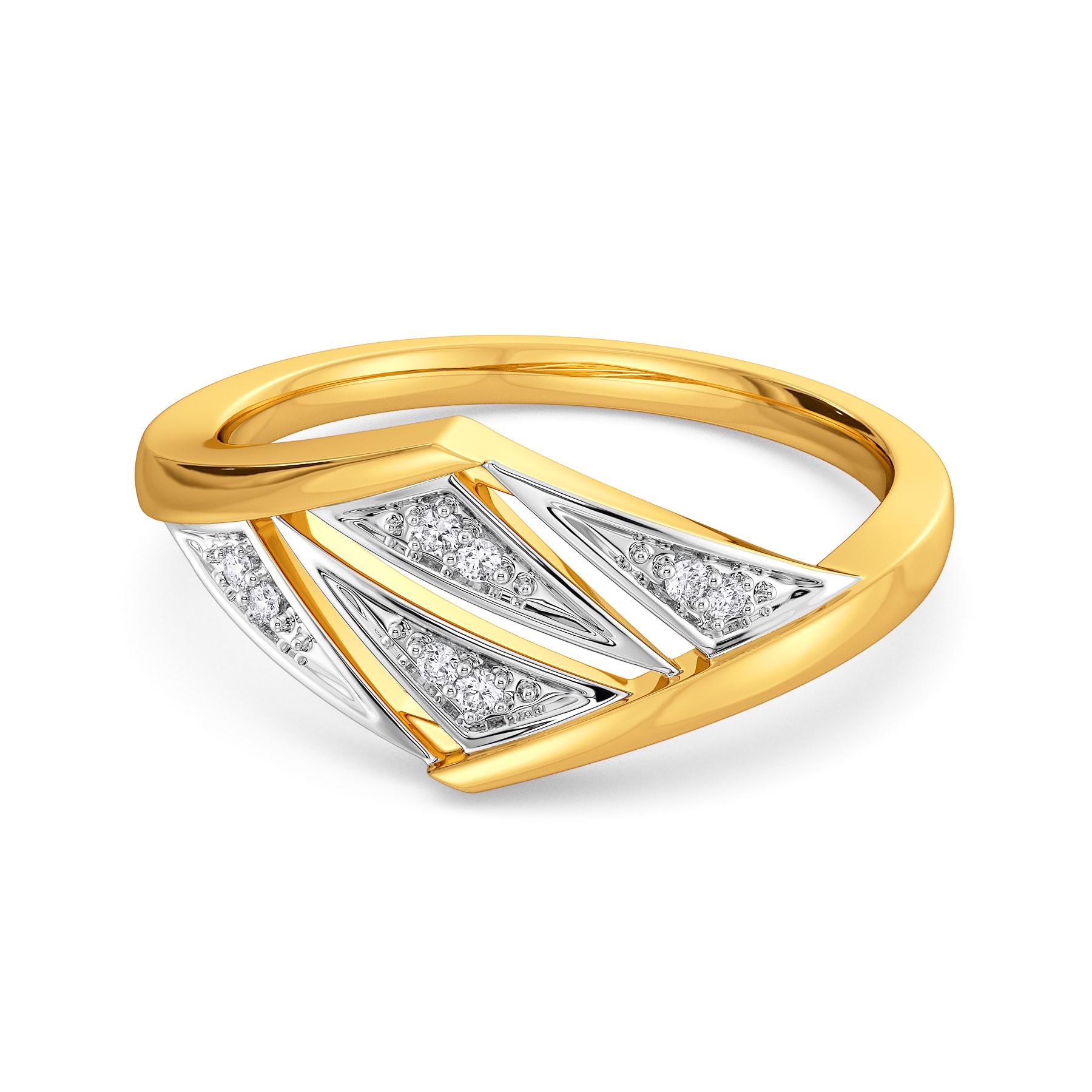 Bossy Chic Diamond Rings