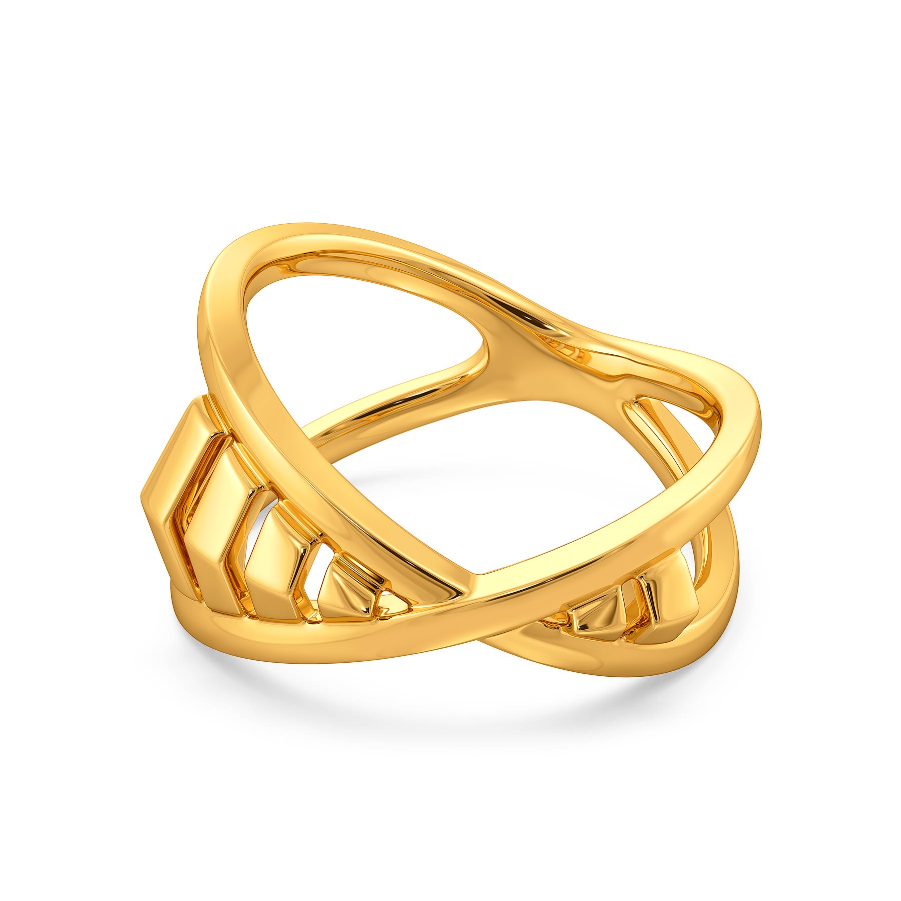 The Boss Lady Gold Rings