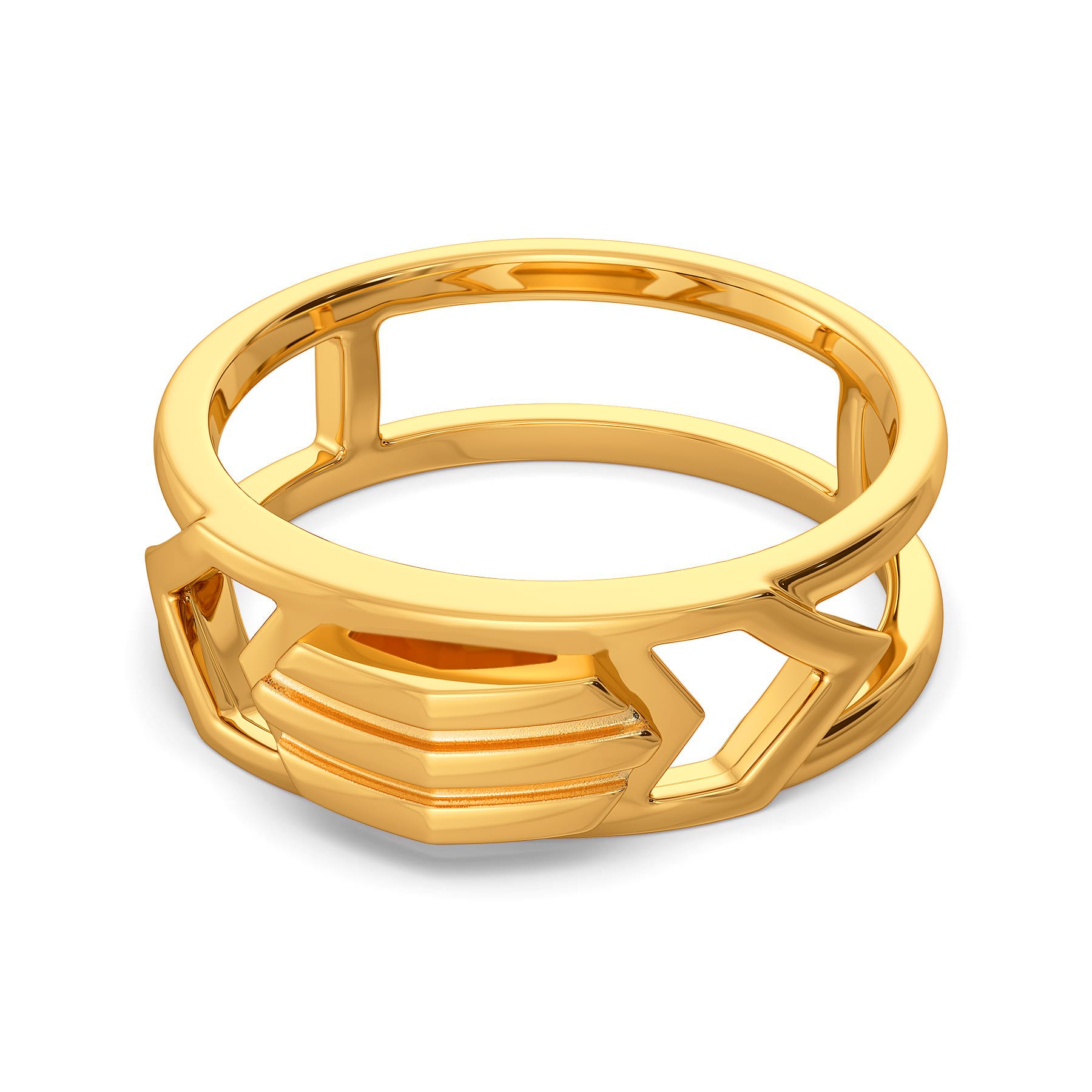 Gender Bender Gold Rings