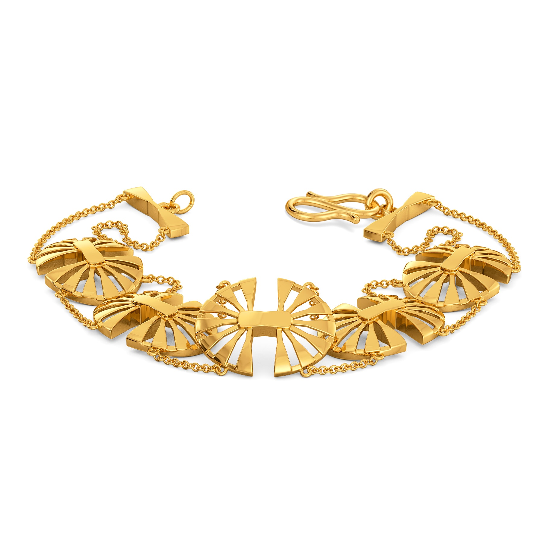Elegant Boho Gold Bracelets