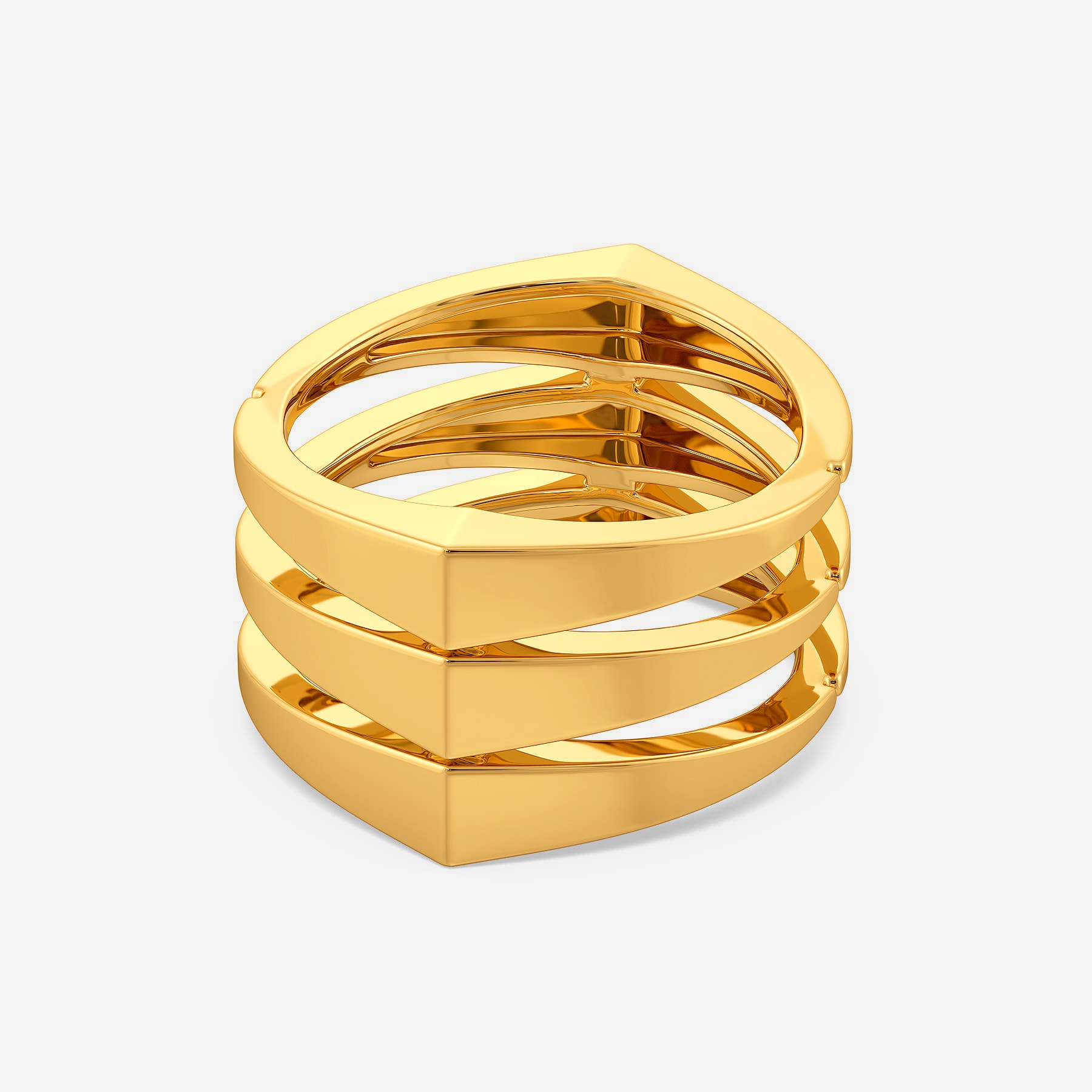 Back To Work Gold Rings