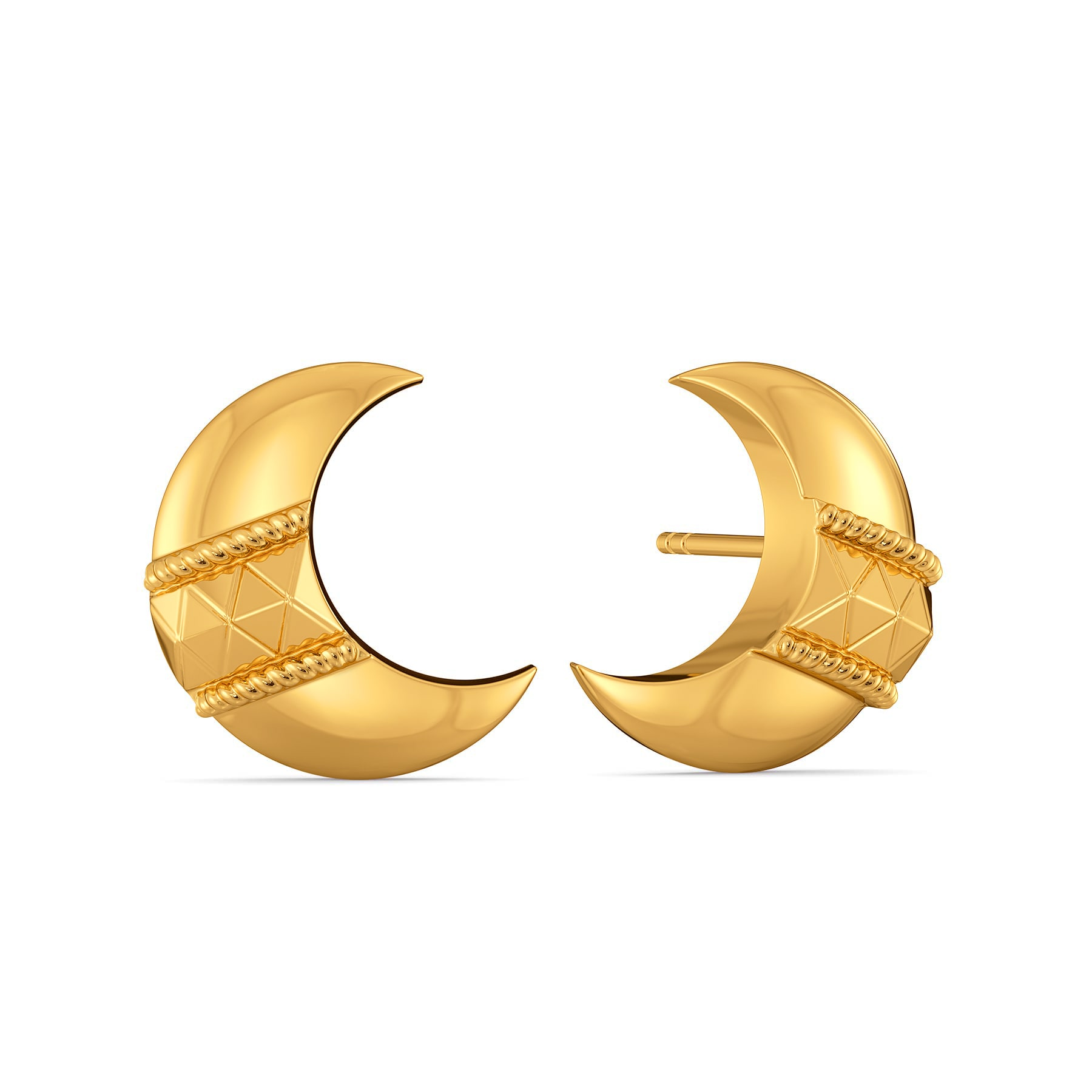 Comfy Volumes Gold Earrings