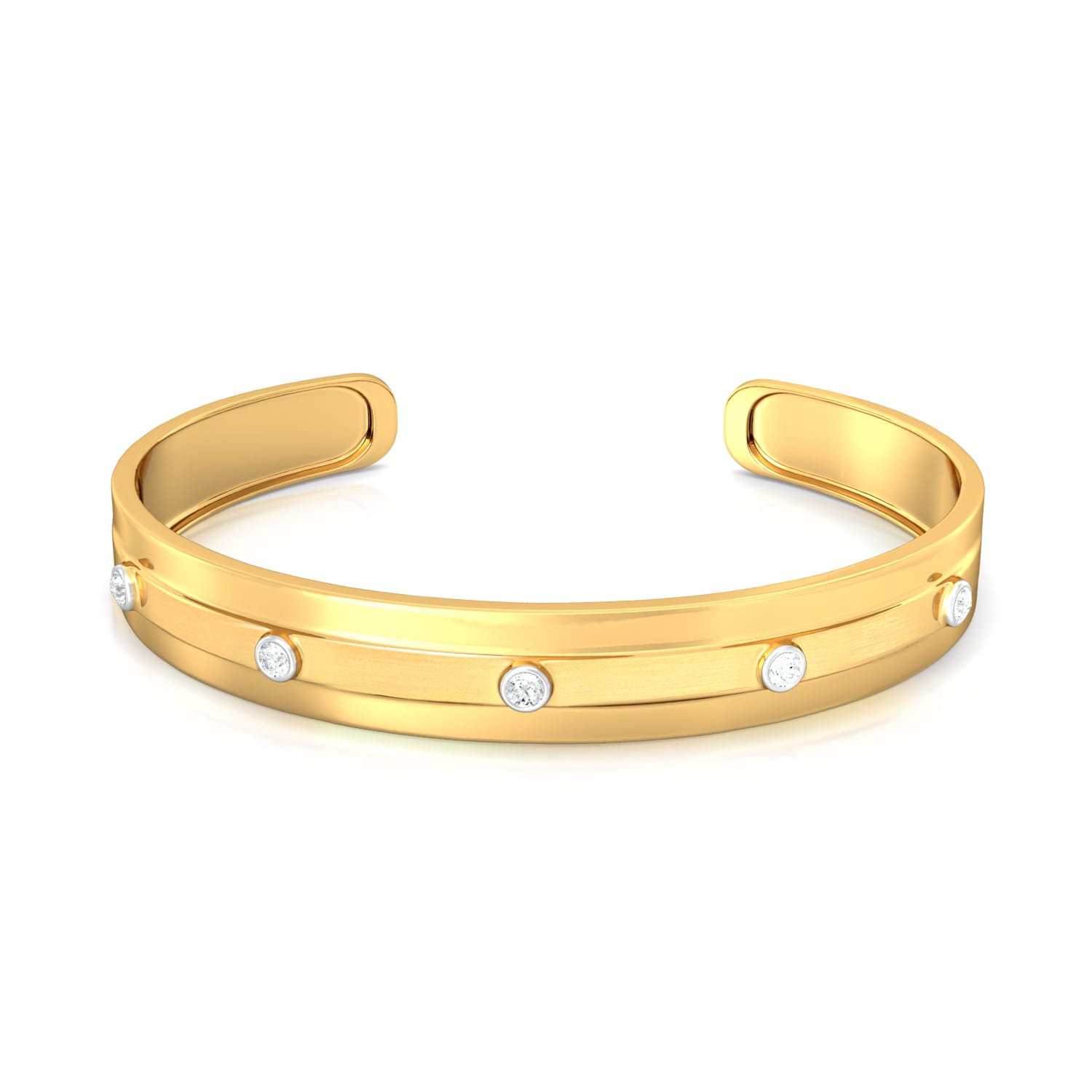 Gold Rush Diamond Bangles