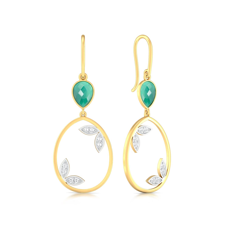 Forest Vibes Diamond Earrings