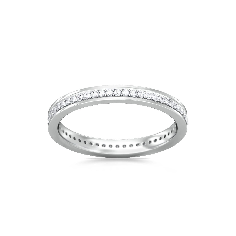 Fine Line Diamond Rings