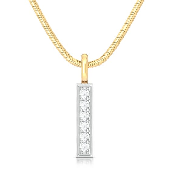 Linear equation Diamond Pendants