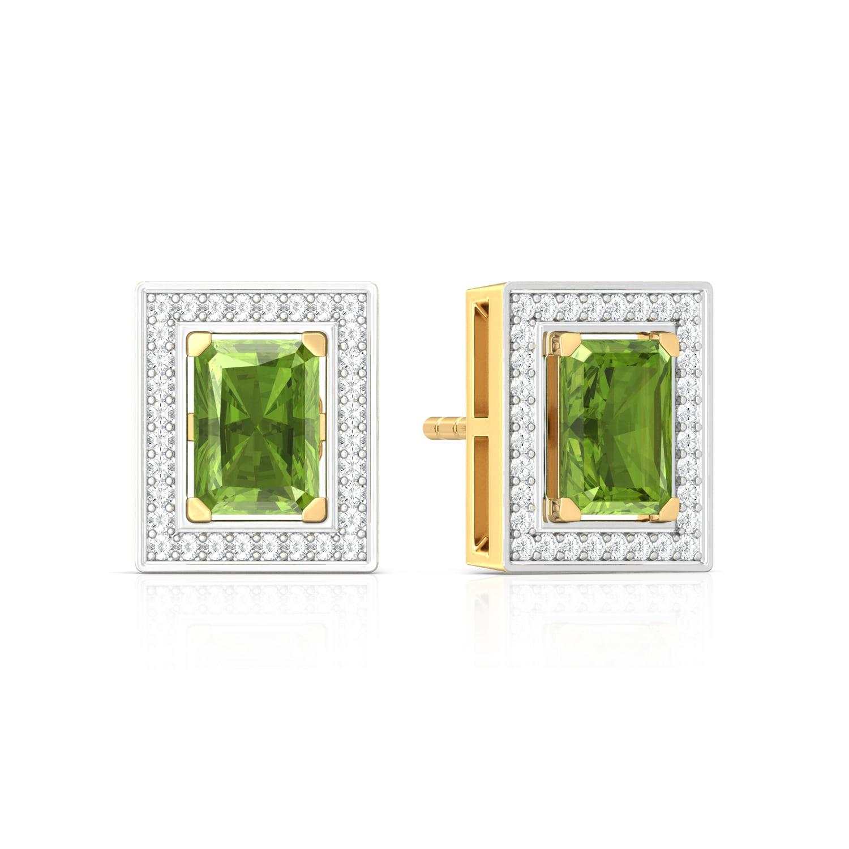 Wild Forest Diamond Earrings