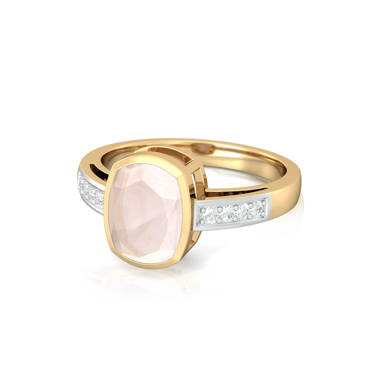 Blush Diamond Rings