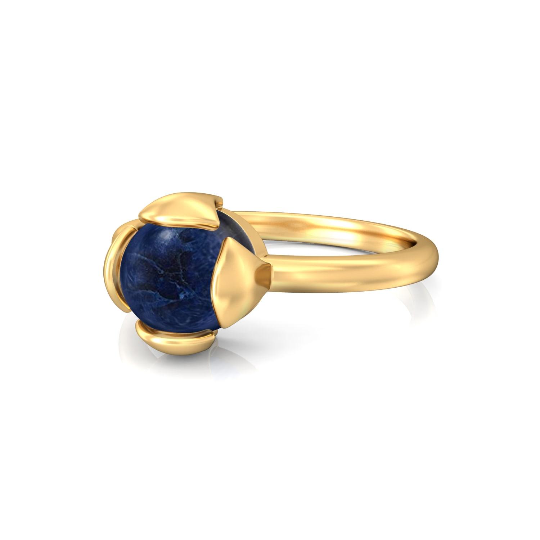 Berry Blue Gemstone Rings