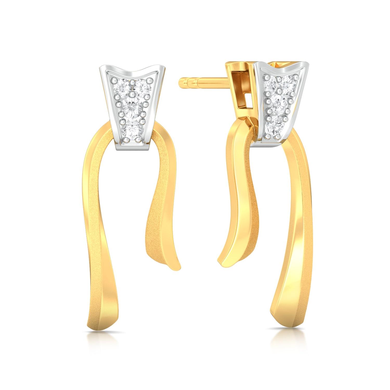 Untie Diamond Earrings