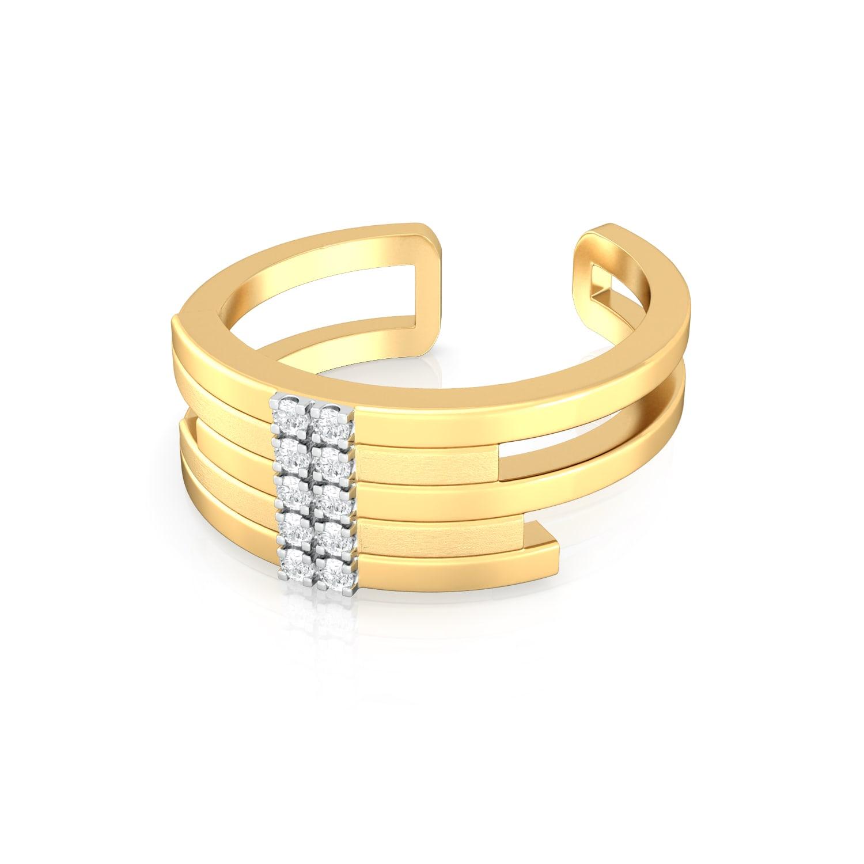 Barlesque Diamond Rings