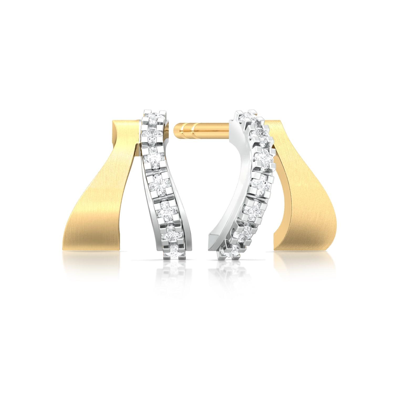Two to Tango Diamond Earrings