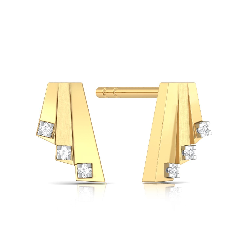 Wild Card Diamond Earrings