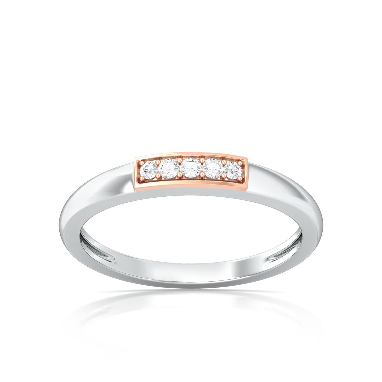 Orbital Pink Diamond Rings