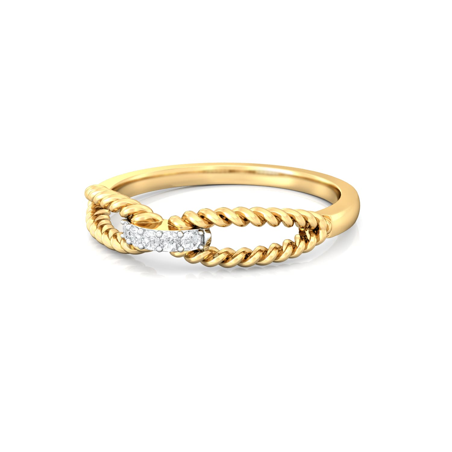 Twist of Fate  Diamond Rings