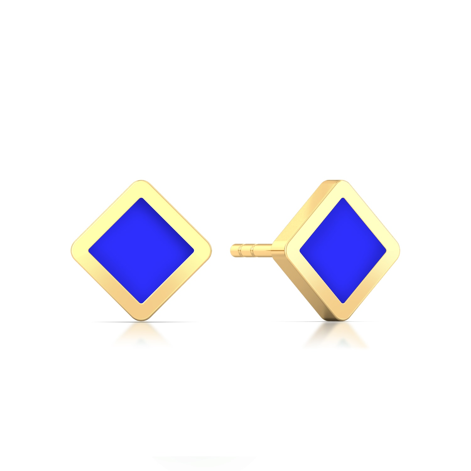 Know-it-all Gold Earrings