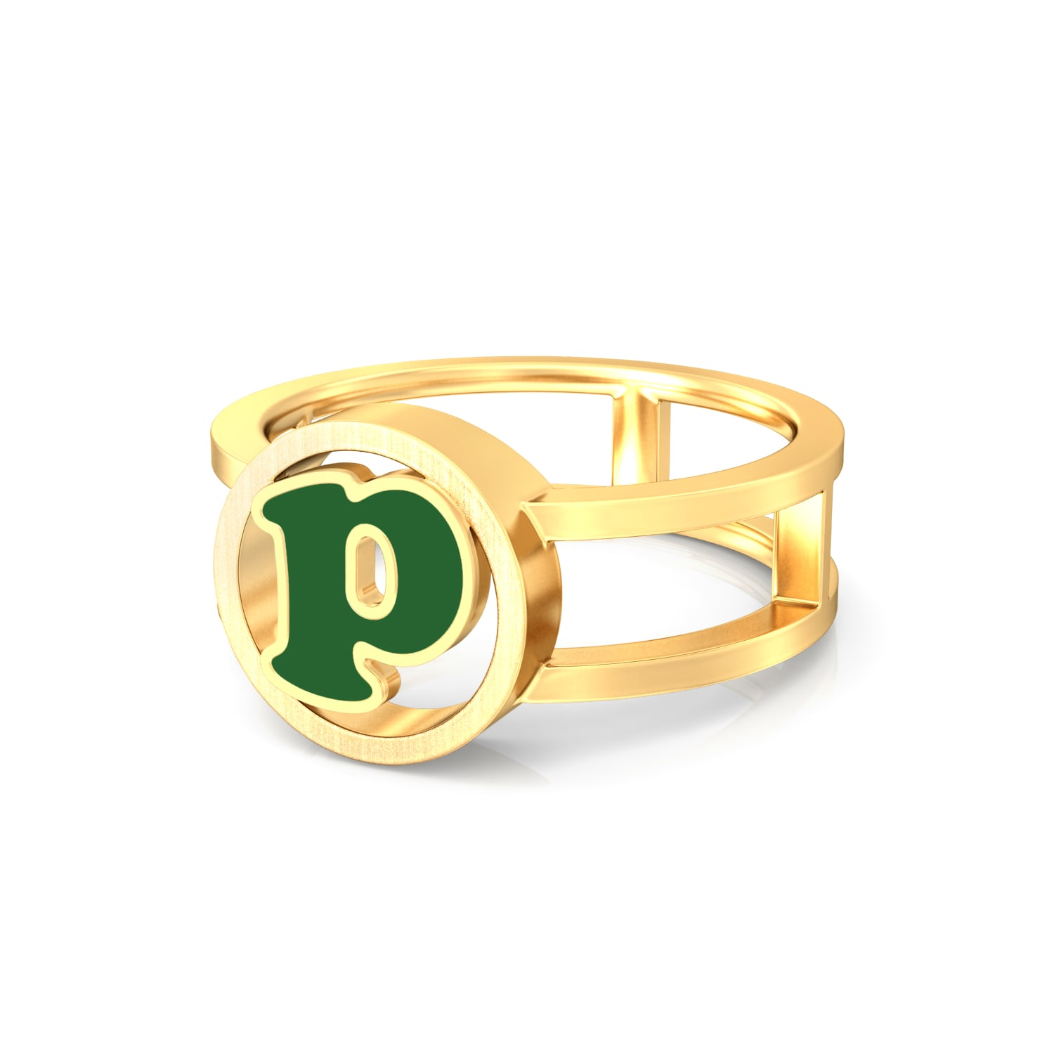 Picture perfect Gold Rings