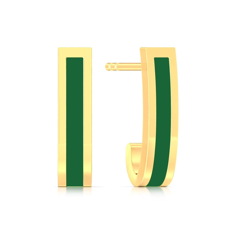 Trendsetter Gold Earrings