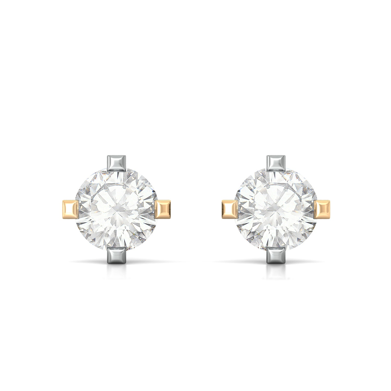 Flawless Diamond Earrings