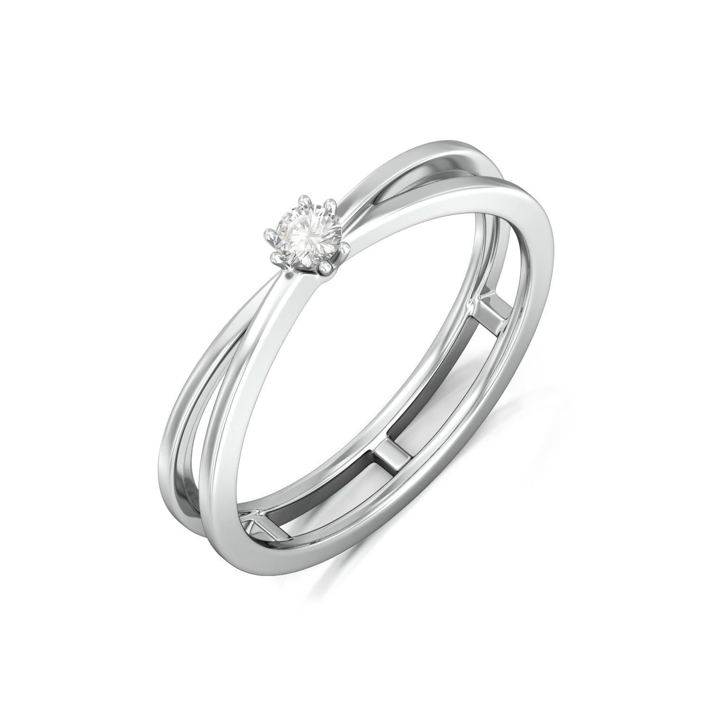 Monochrome Diamond Rings