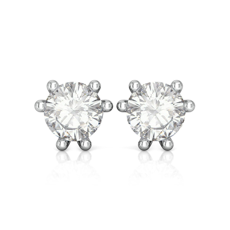 Monochrome Diamond Earrings
