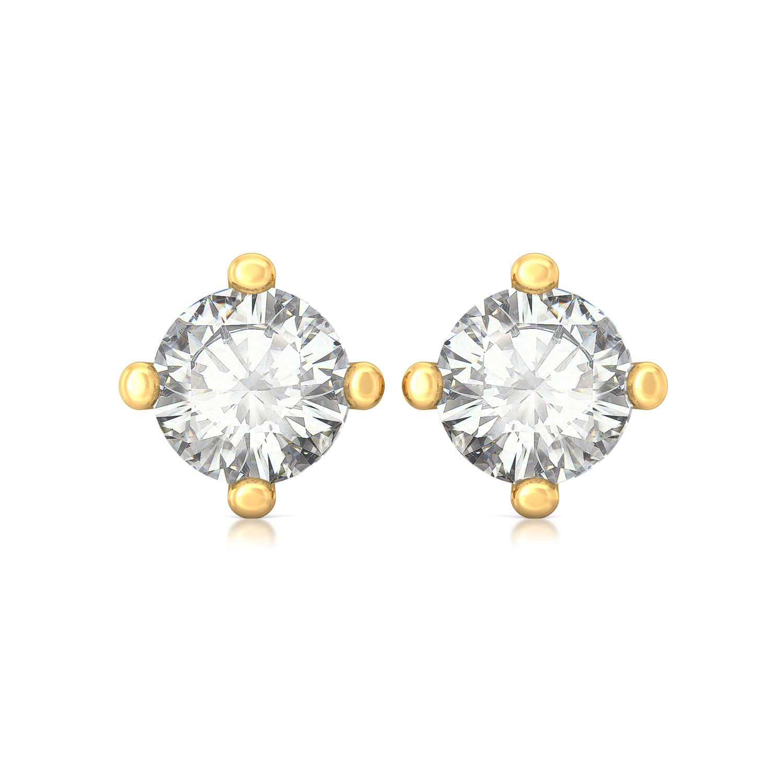 Minima Diamond Earrings