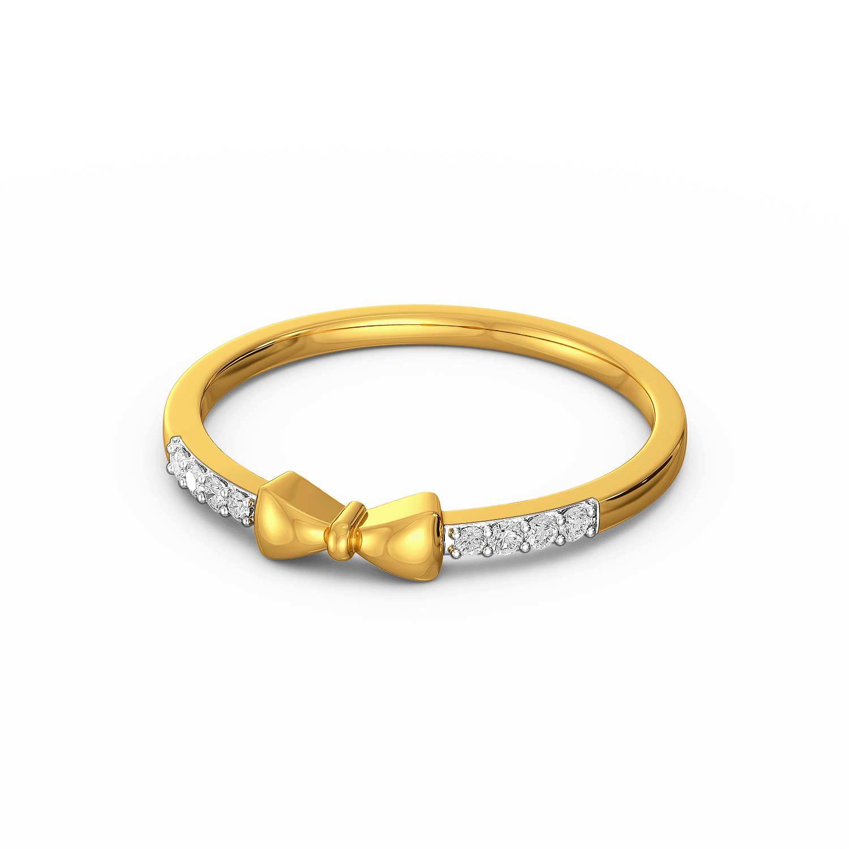 Twinkly Knots Diamond Rings