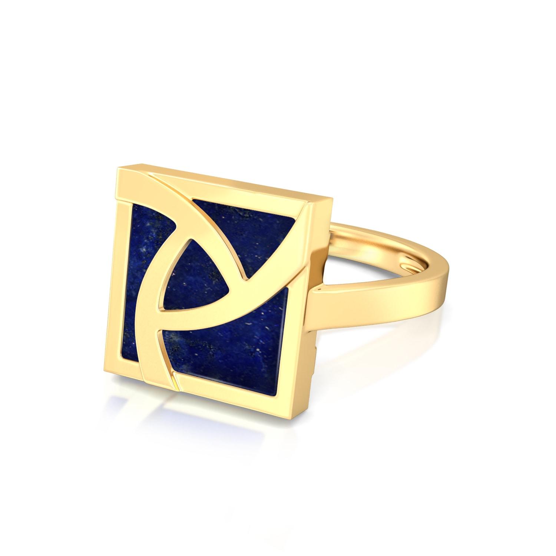 Flame of Iris  Gemstone Rings