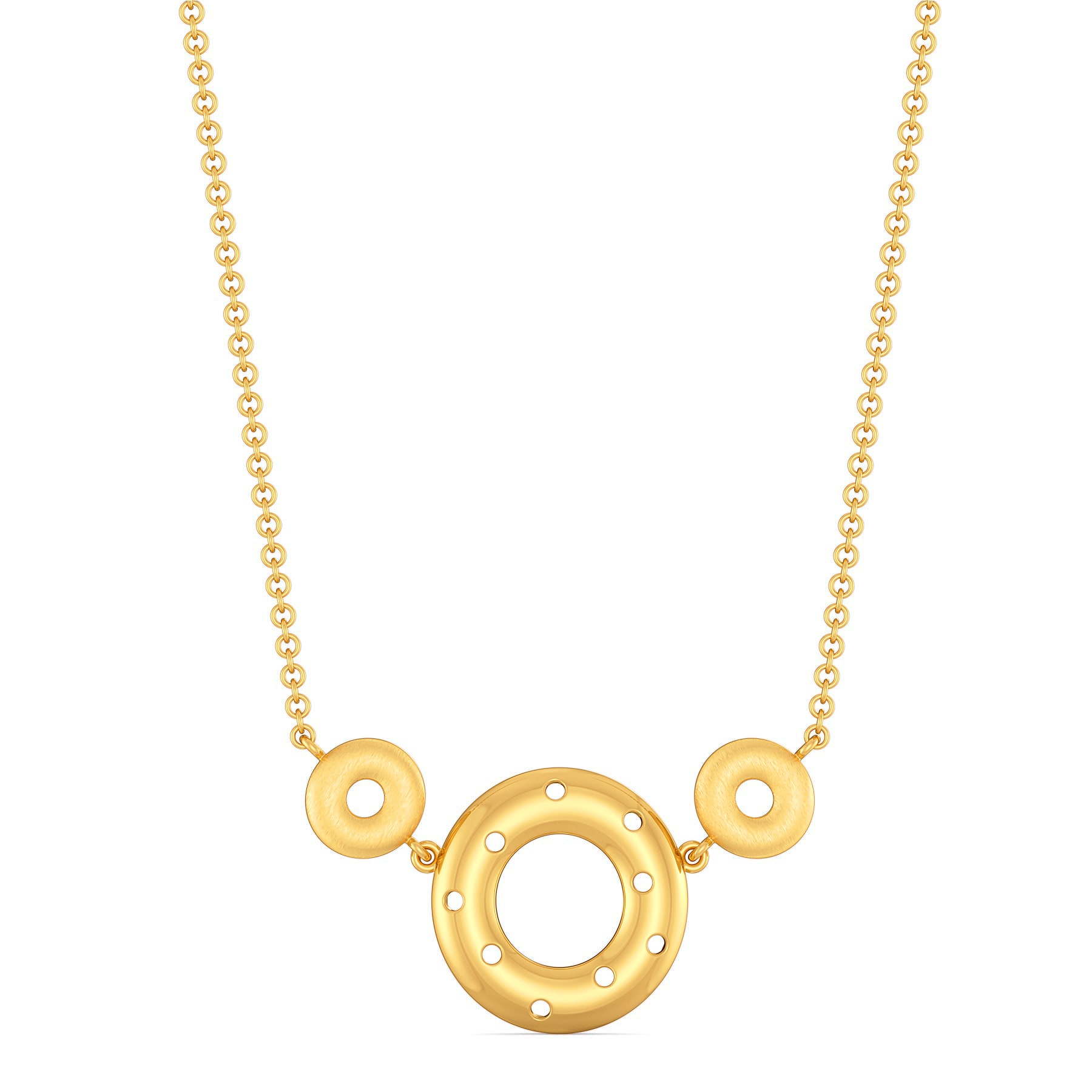 Feisty Reps Gold Necklaces