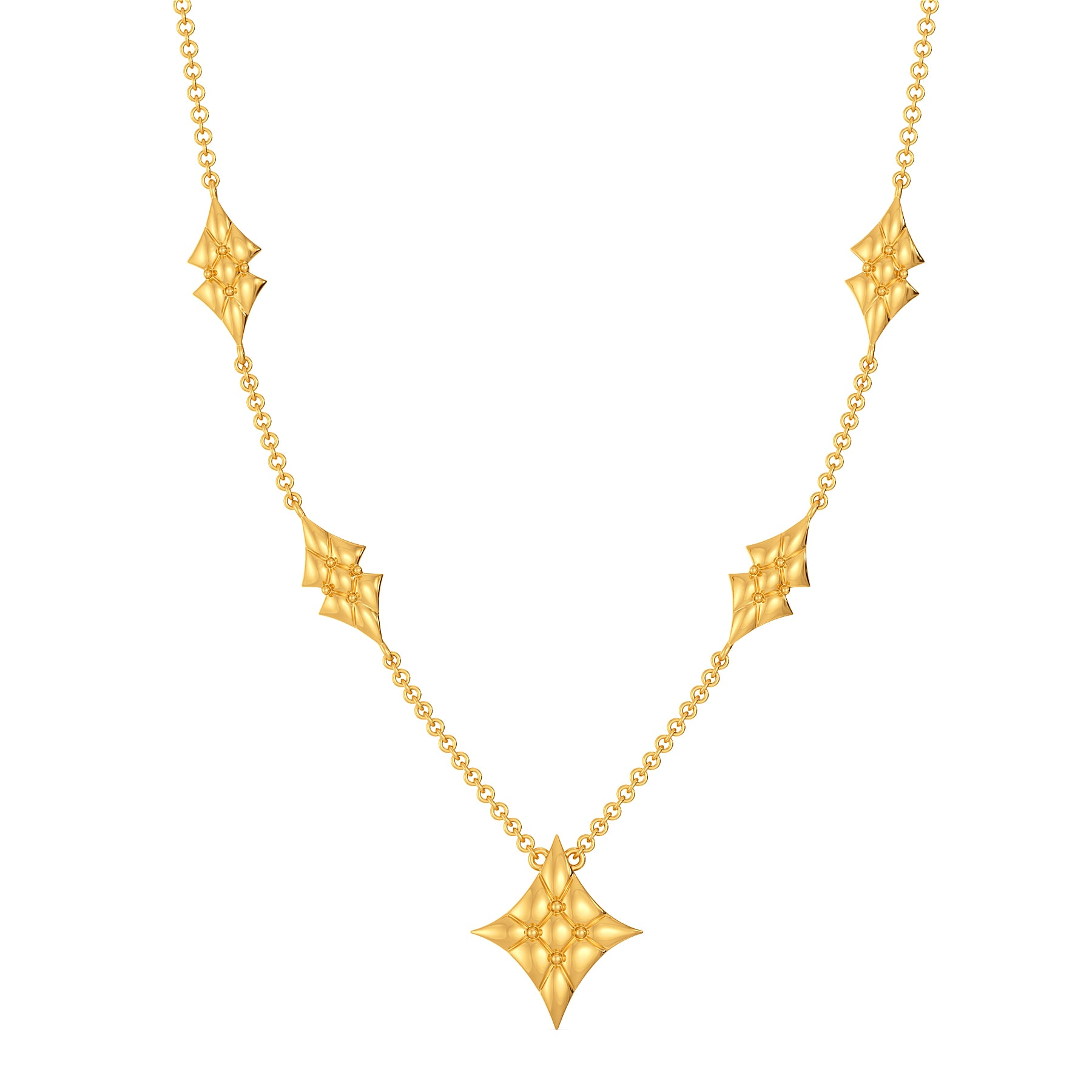 Quilty Leisure Gold Necklaces