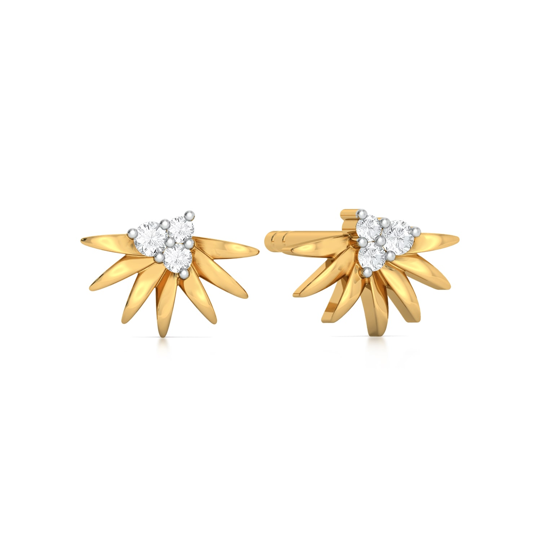 Spike N Like Diamond Earrings