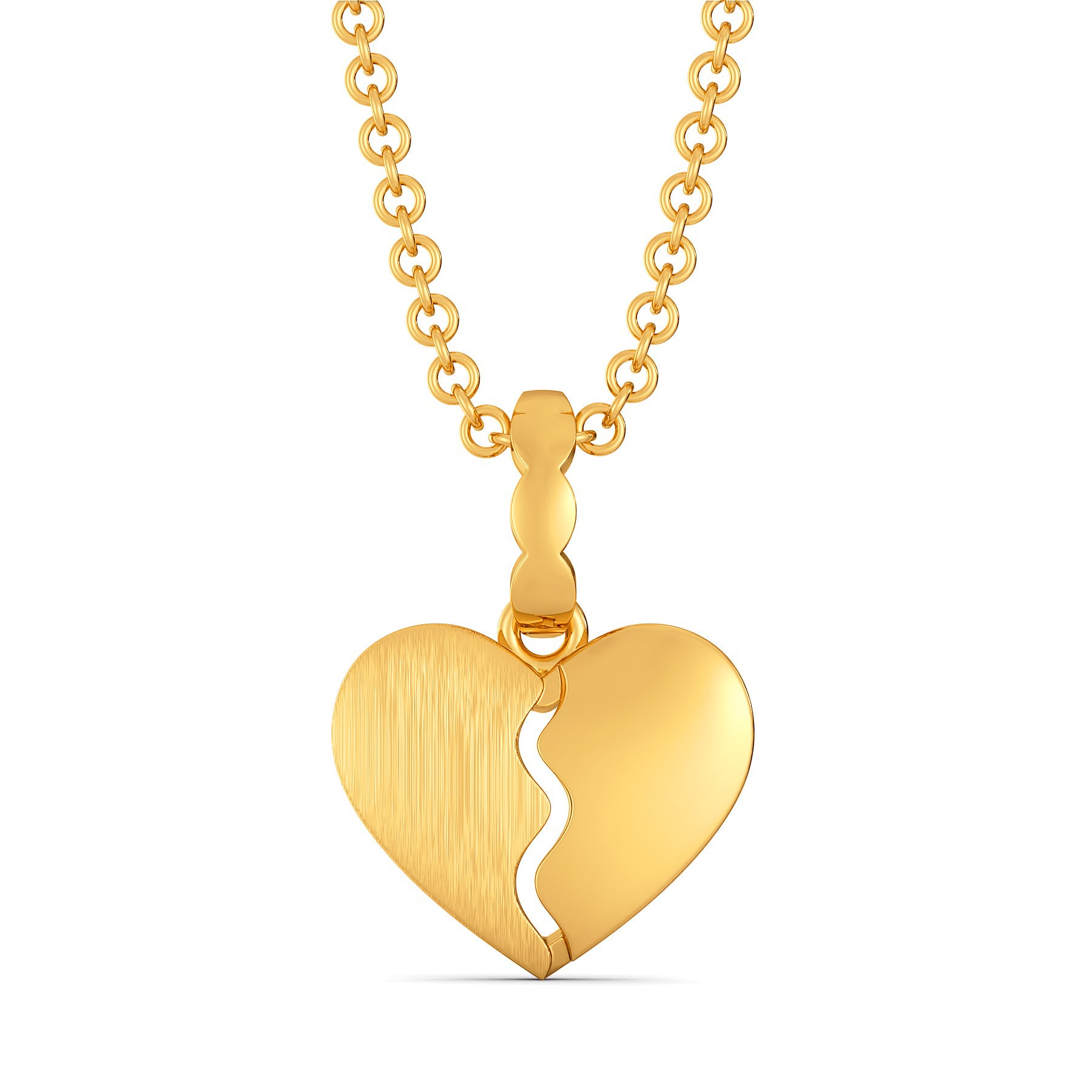 Carre Ardor Gold Pendants