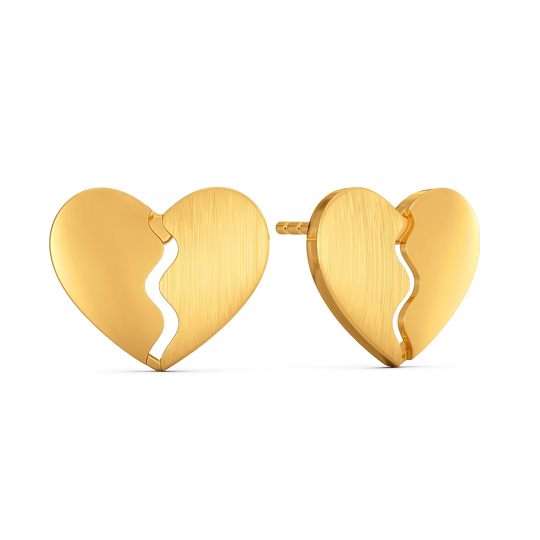 Carre Ardor Gold Earrings