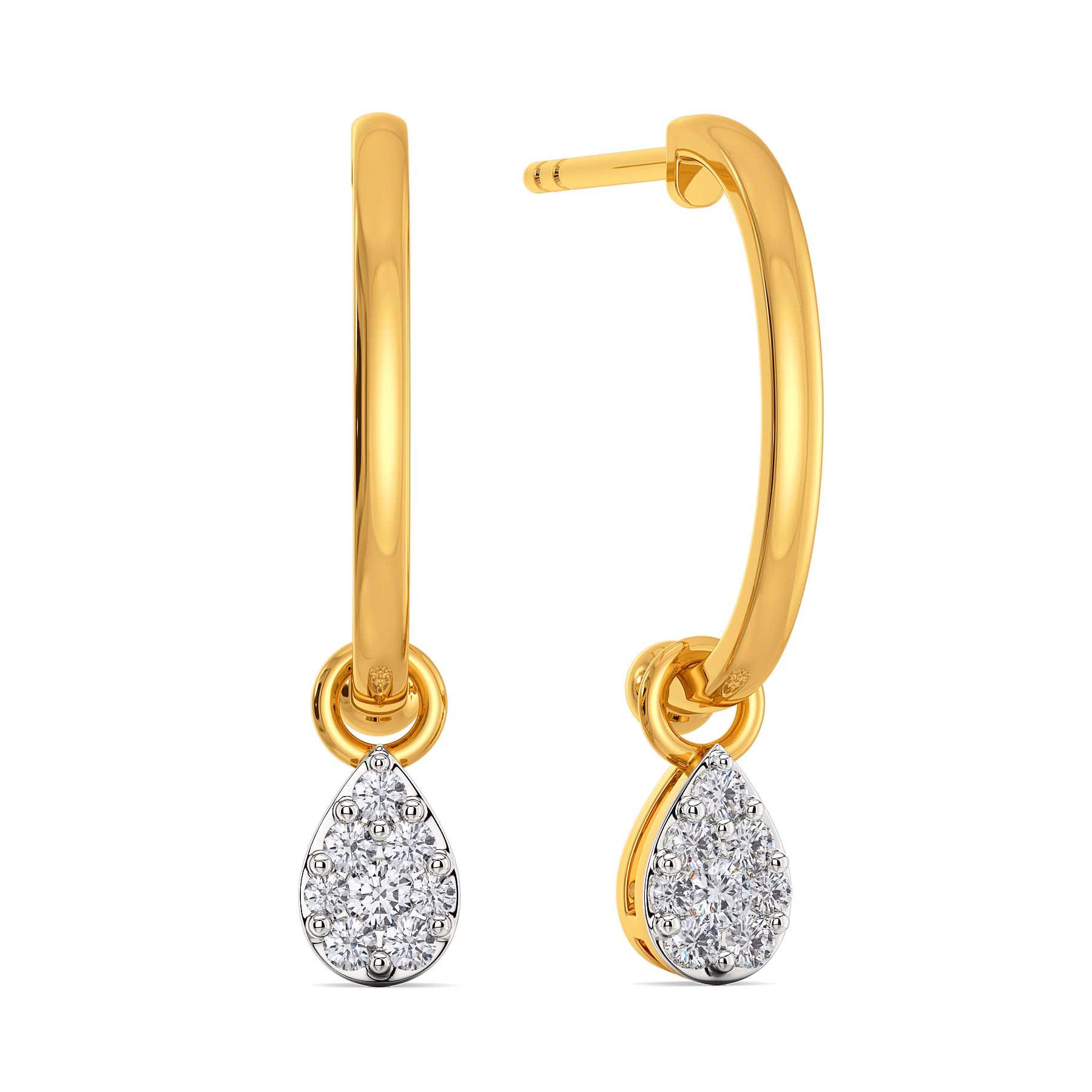 Dribble Dabble Diamond Earrings