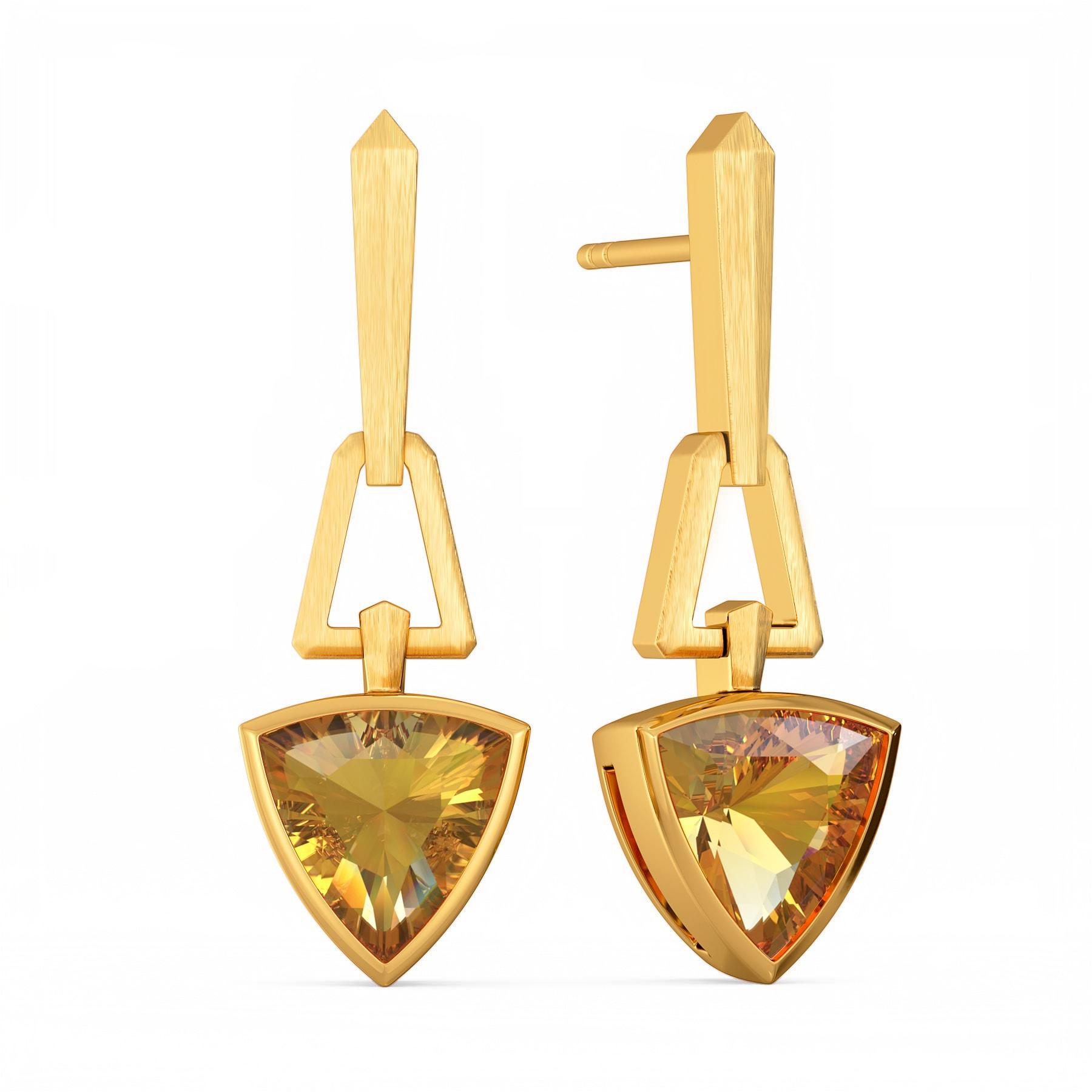 Edge of the Earth Gemstone Earrings