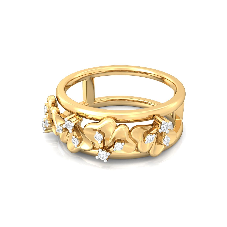 Happie Hippie Diamond Rings