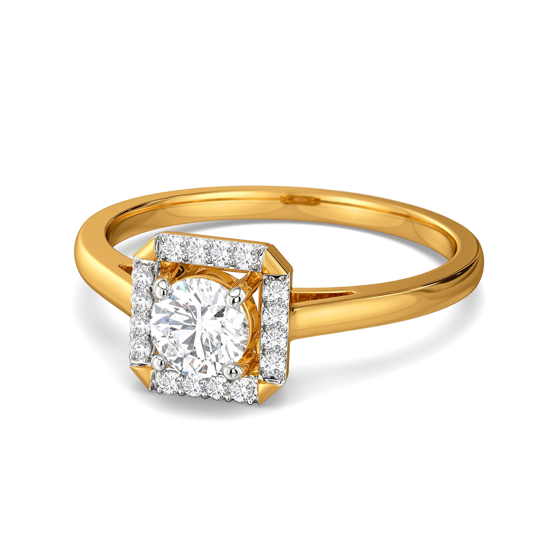Quad Cupid Diamond Rings