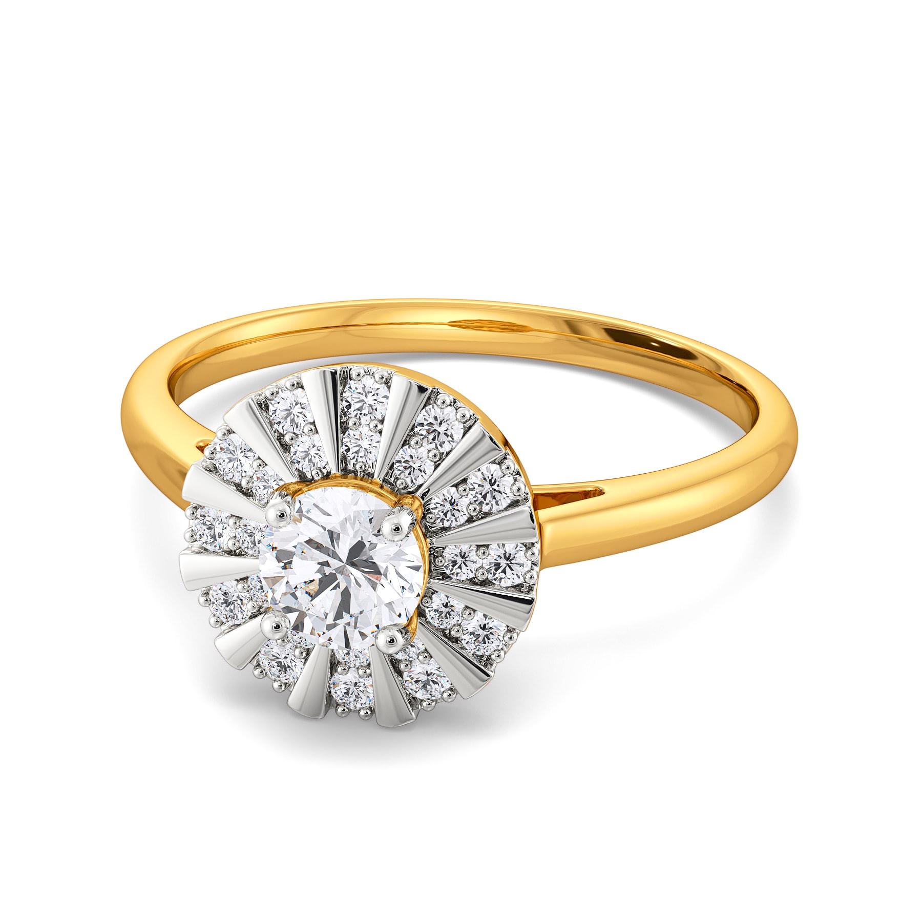 Flair to Bloom Diamond Rings