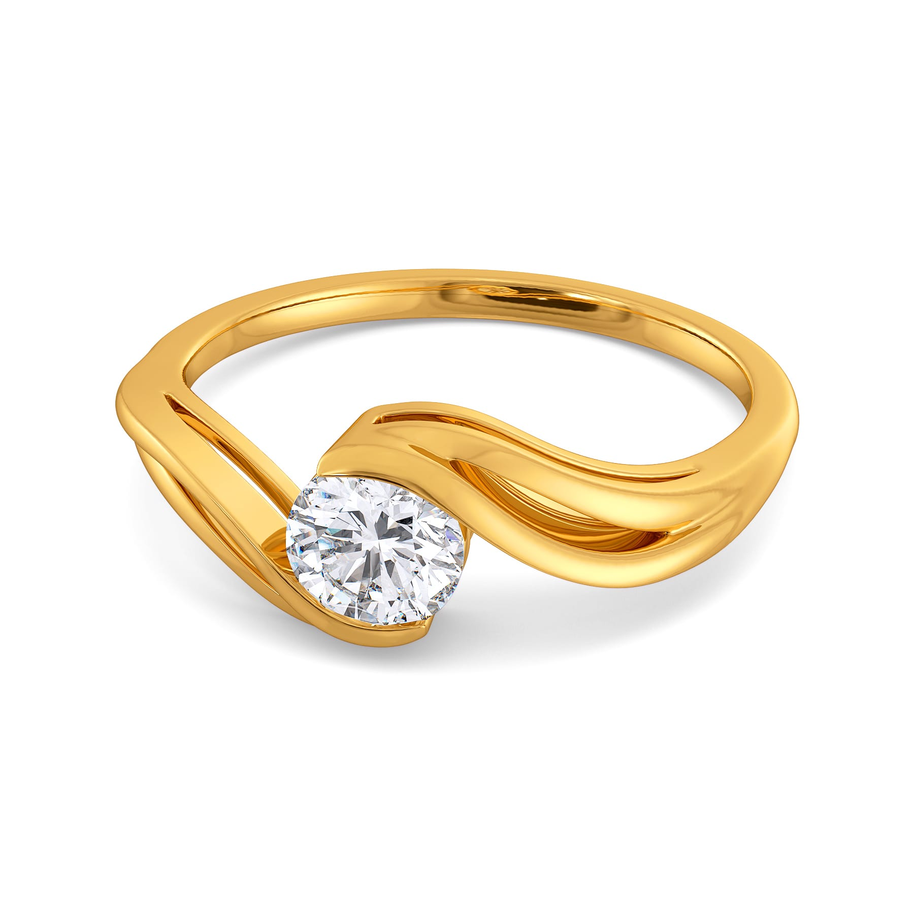 Charm of Curls Diamond Rings