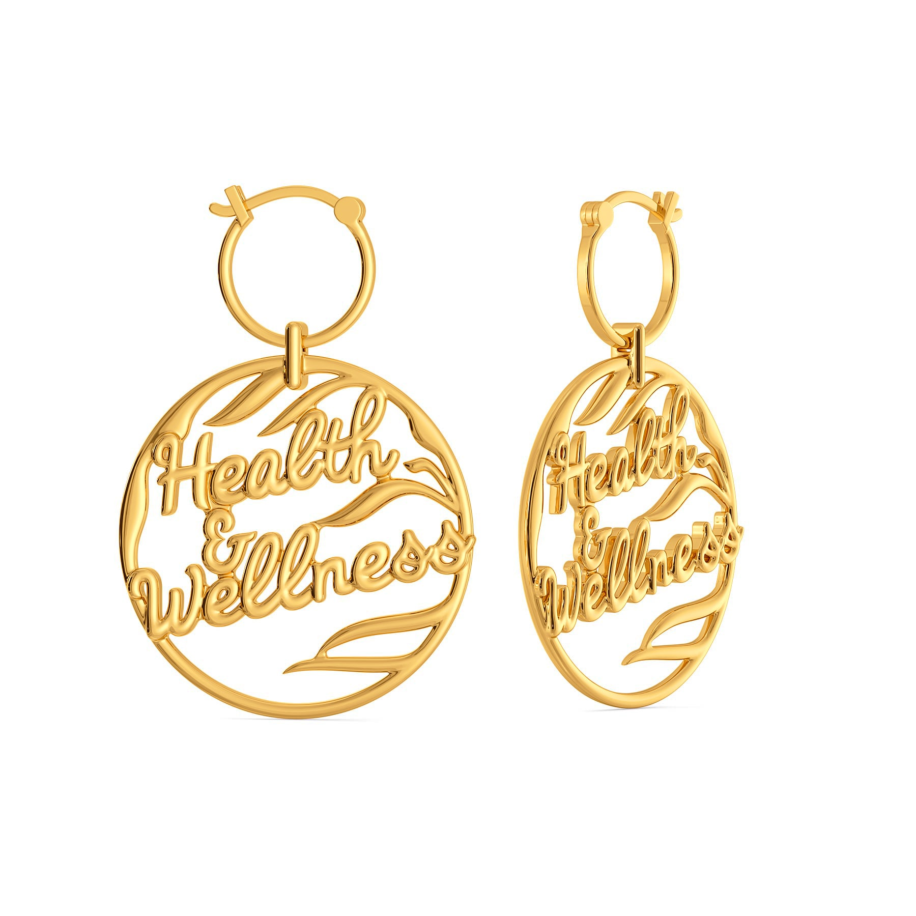 Wellness Vibes Gold Earrings