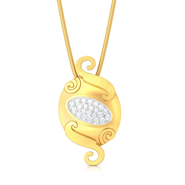 Textured Tango Diamond Pendants