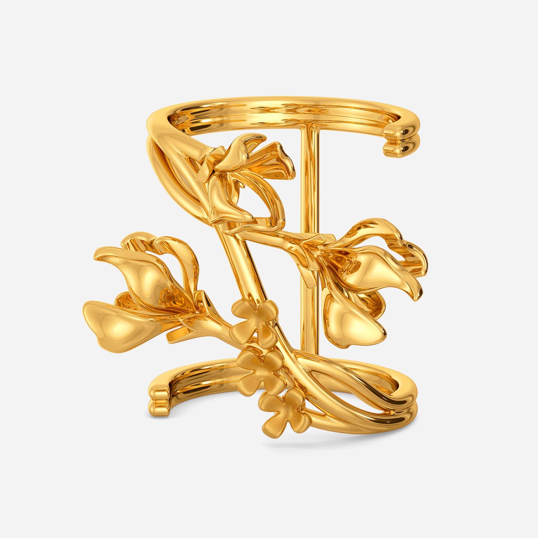 Bold N Bountiful Gold Rings