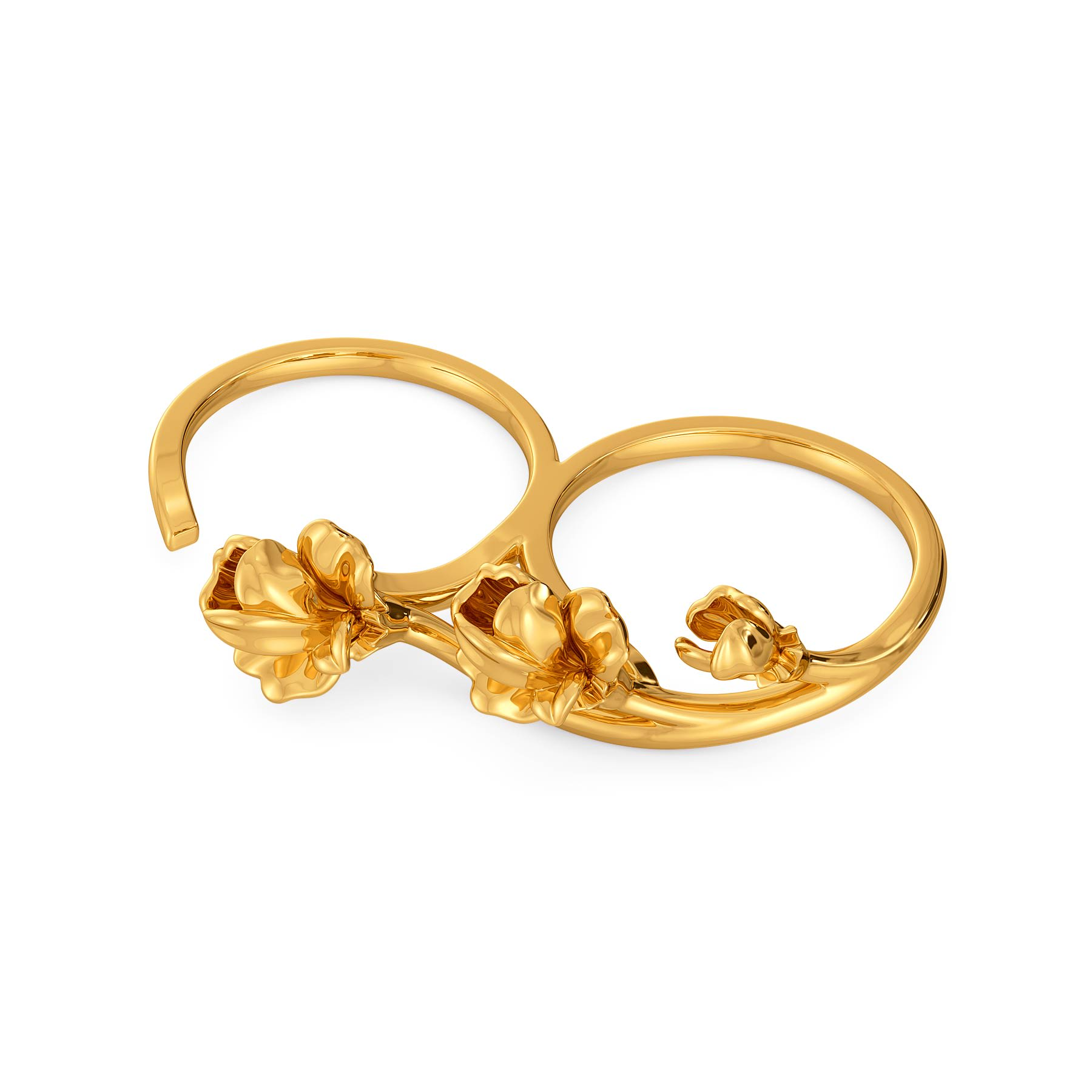 Dawn to Dusk Gold Rings